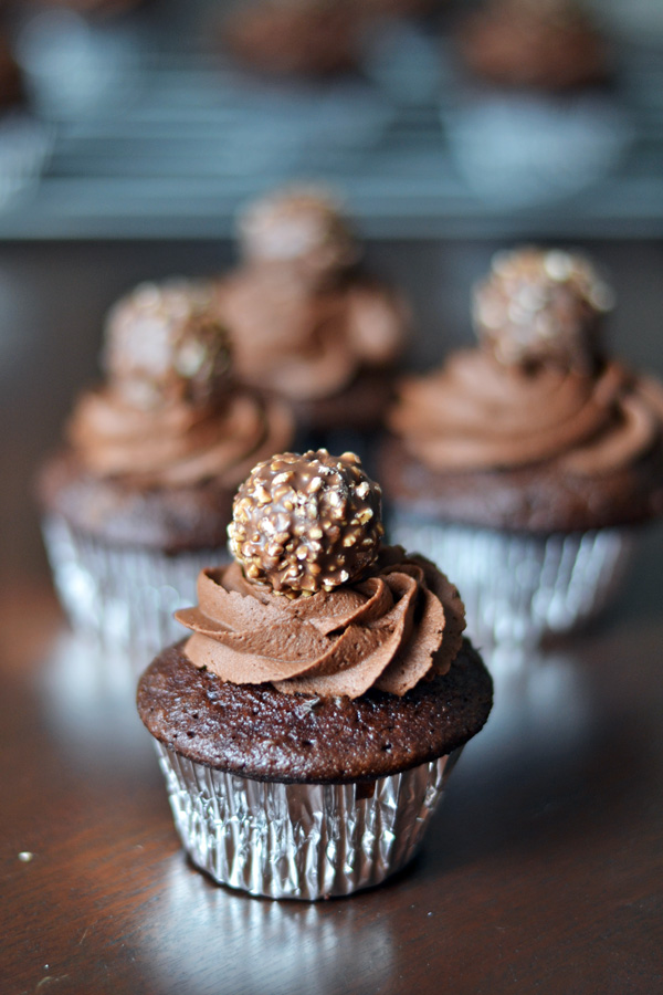 Ferrero Rocher Cupcakes Ambs Loves Food