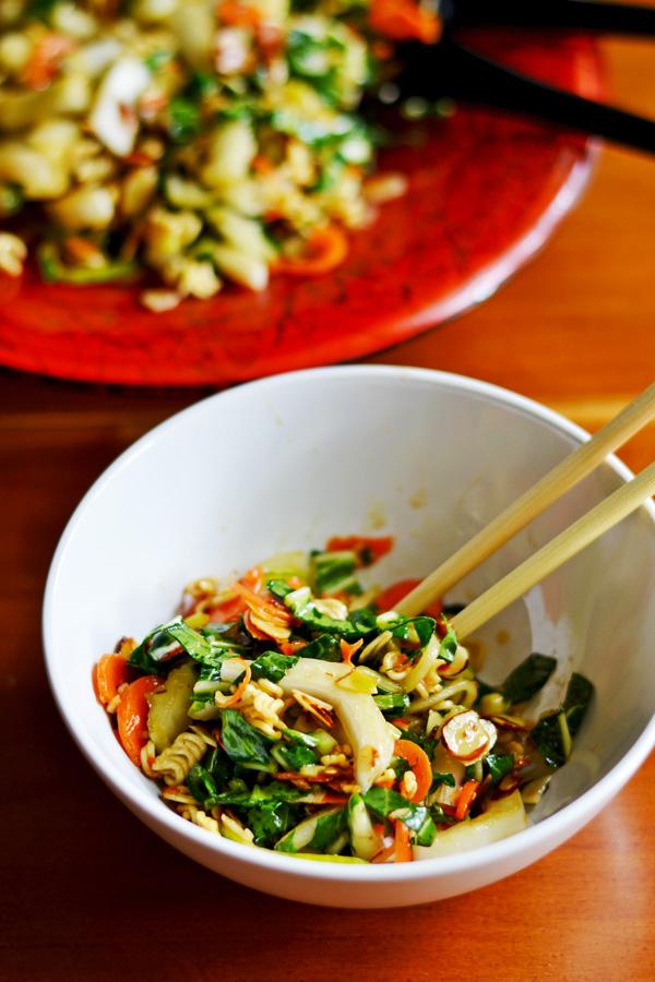 Crunchy Bok Choy Salad Ambs Loves Food